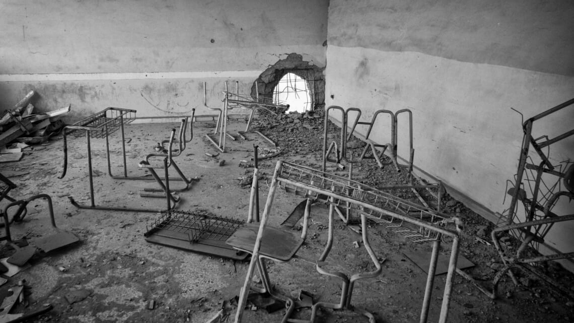 Caritas International België Aleppo: Stille evacuatie, schrijnende noden