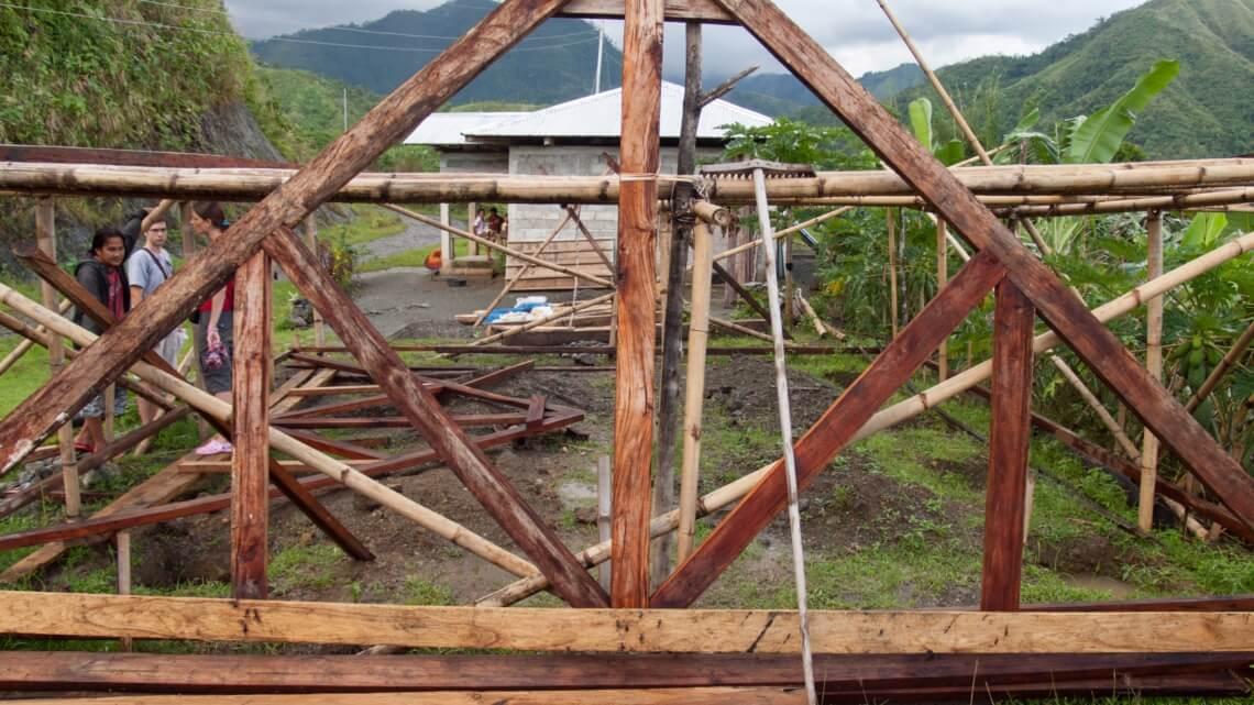 Caritas International Belgique Soutenir les populations indigènes de Libacao après le passage d'Haiyan