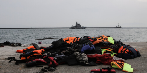 Caritas International Belgium Boats are still arriving daily to the Greek Islands