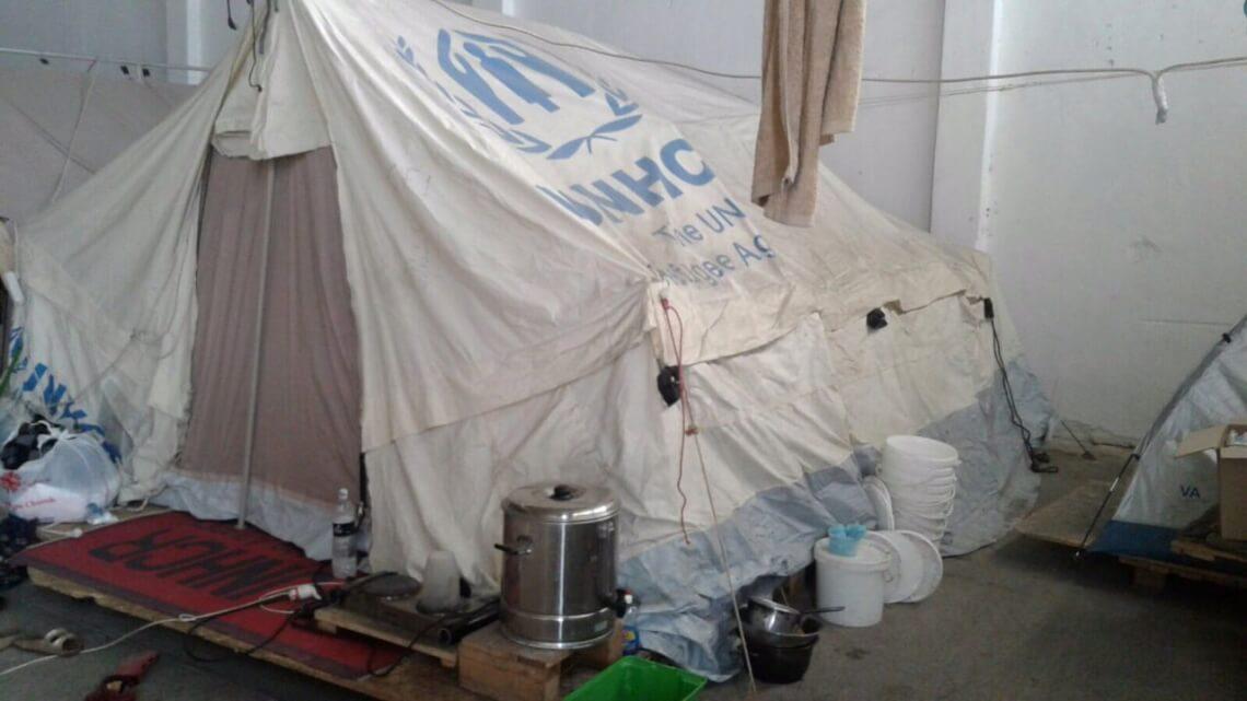Caritas International België Bijtende koude in Griekenland en de Balkan