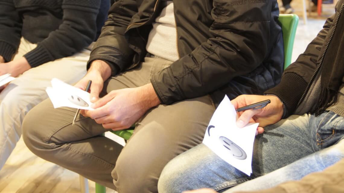 "Caritas International België Workshop ""cultuurshock"": ""Ik mis mijn familie"""