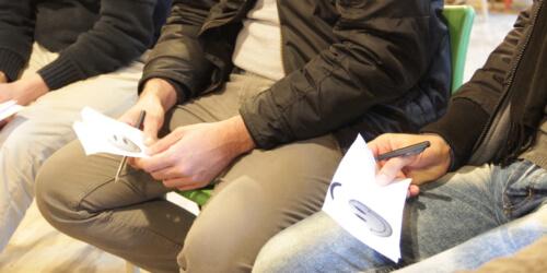 Caritas International Belgium Workshop «culture shock»: «I miss my family»