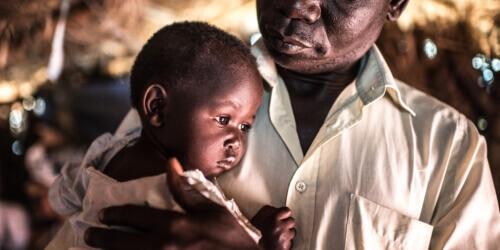Caritas International België 5 miljoen mensen hebben hulp nodig. 275.000 kinderen zijn ondervoed