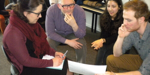 """Caritas International België Studiedag i.s.m. AP Hogeschool Antwerpen """"Hoe kunnen we het samenleven met vluchtelingen bevorderen?"""""""