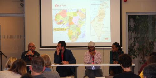 """Caritas International België Studiedagen i.s.m. UCSIA """"Wat als uw leerling vluchteling is? Over migratie en diversiteit op school"""""""