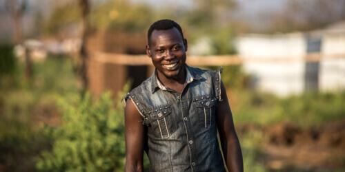 Caritas International België Het verhaal van David Songa