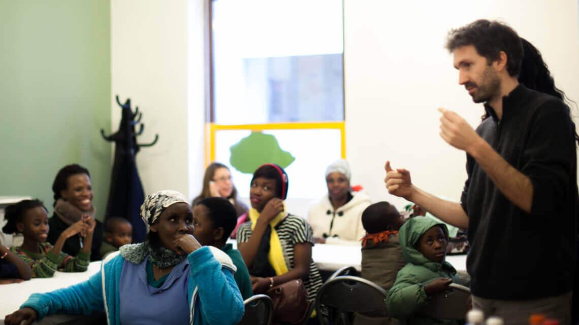 Caritas International België Caritas International en Convivial uit het Belgische hervestigingsprogramma gezet