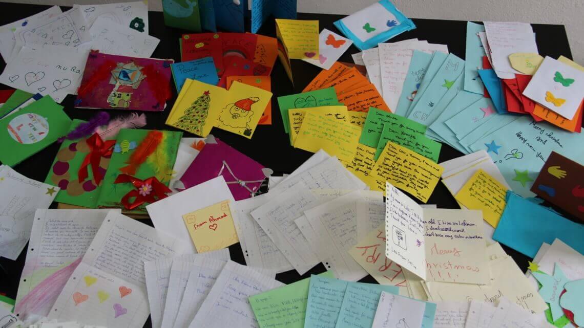 Caritas International Belgique Noël en exil: Un pont entre les jeunes de Belgique et du Liban
