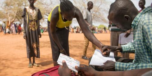 Caritas International Belgique Trois mois après l'appel national: bilan de l'aide sur les fronts de la famine