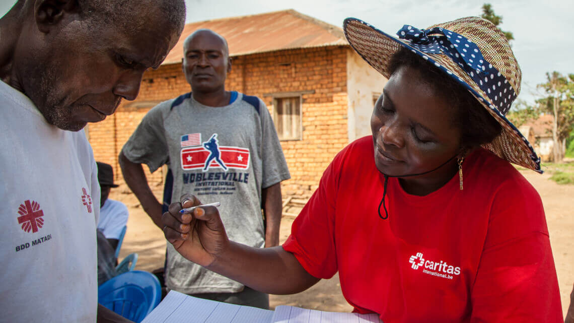 Caritas International België Systeem voor humanitaire monitoring en crisismanagement in Kasaï