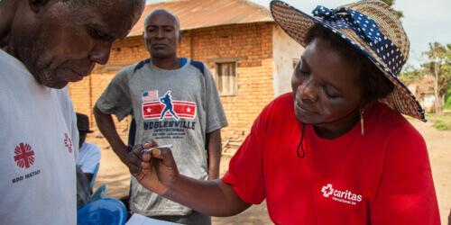 Caritas International België Systeem voor humanitaire monitoring en crisismanagement in Kasaï
