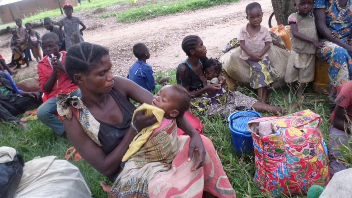 Caritas International België 1,3 miljoen intern ontheemden door dodelijk geweld in Kasaï