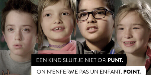 Caritas International Belgium On n'enferme pas un enfant. Point.
