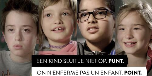 Caritas International België Een kind sluit je niet op. Punt.