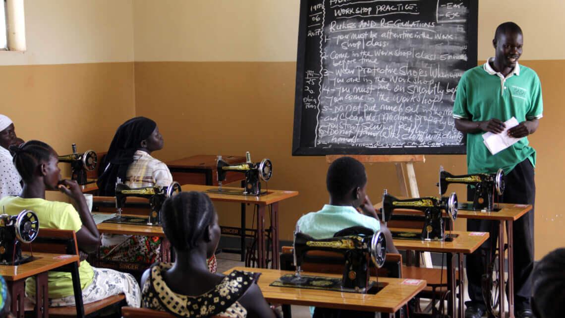 Caritas International Belgique Ward Tanghe à propos du camp de Bidi Bidi en Ouganda