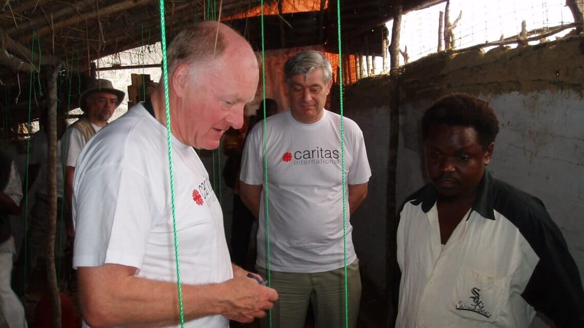 Caritas International België «Wat nog ver aan de horizon leek, staat nu voor de deur»