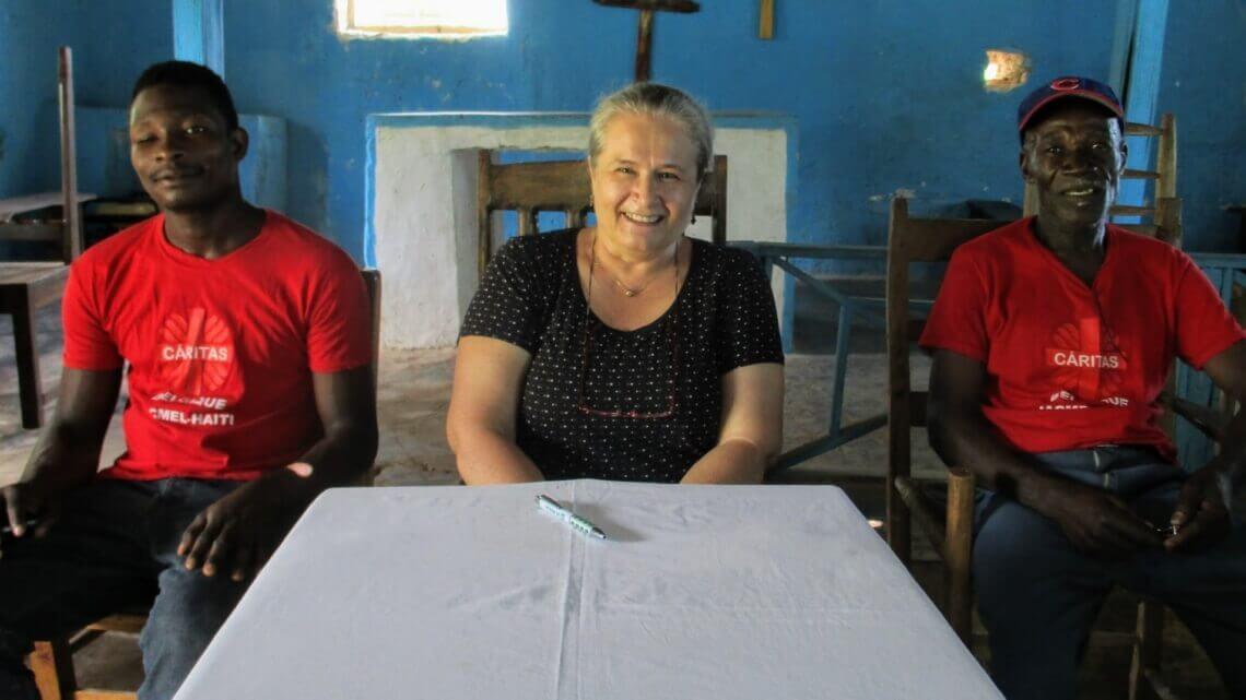 Caritas International Belgique Au plus près des femmes oubliées de Titanyen