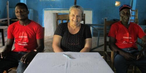Caritas International België Caritasnetwerk bundelt krachten voor de vergeten vrouwen van Titanyen