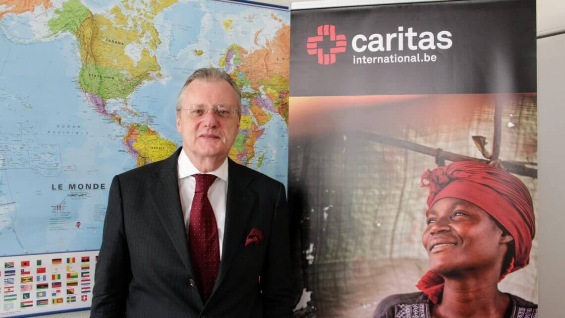 Caritas International Belgique 3 questions à Frank De Coninck, nouveau président de Caritas International