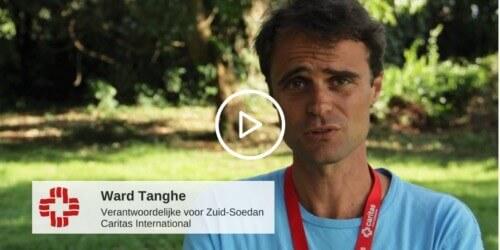 Caritas International België Ward Tanghe over het vluchtelingenkamp Bidi Bidi in Oeganda