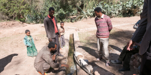 Caritas International Vlottere toegang tot drinkbaar water en betere hygiëne in Oost-Tigray
