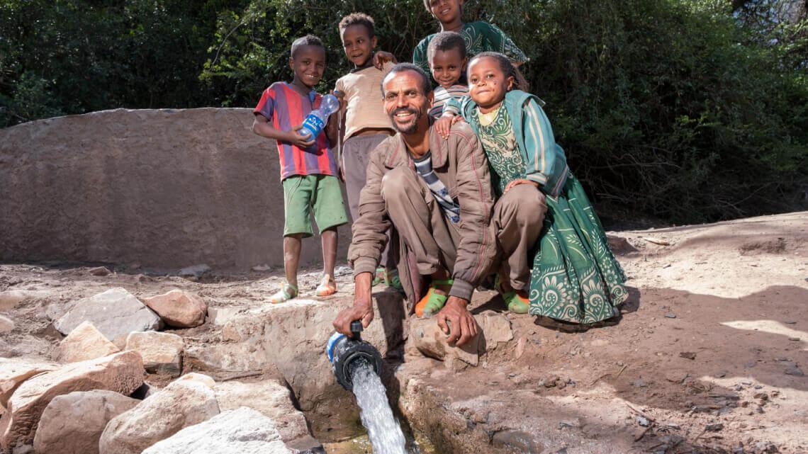 Caritas International België Vlottere toegang tot drinkbaar water en betere hygiëne in Oost-Tigray