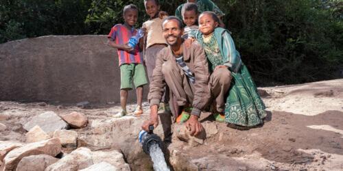 Caritas International Améliorer l'accès à l'eau potable et l'assainissement au Tigray oriental