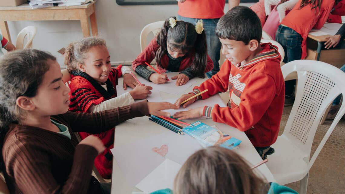 Caritas International België Project – Jongeren op de vlucht