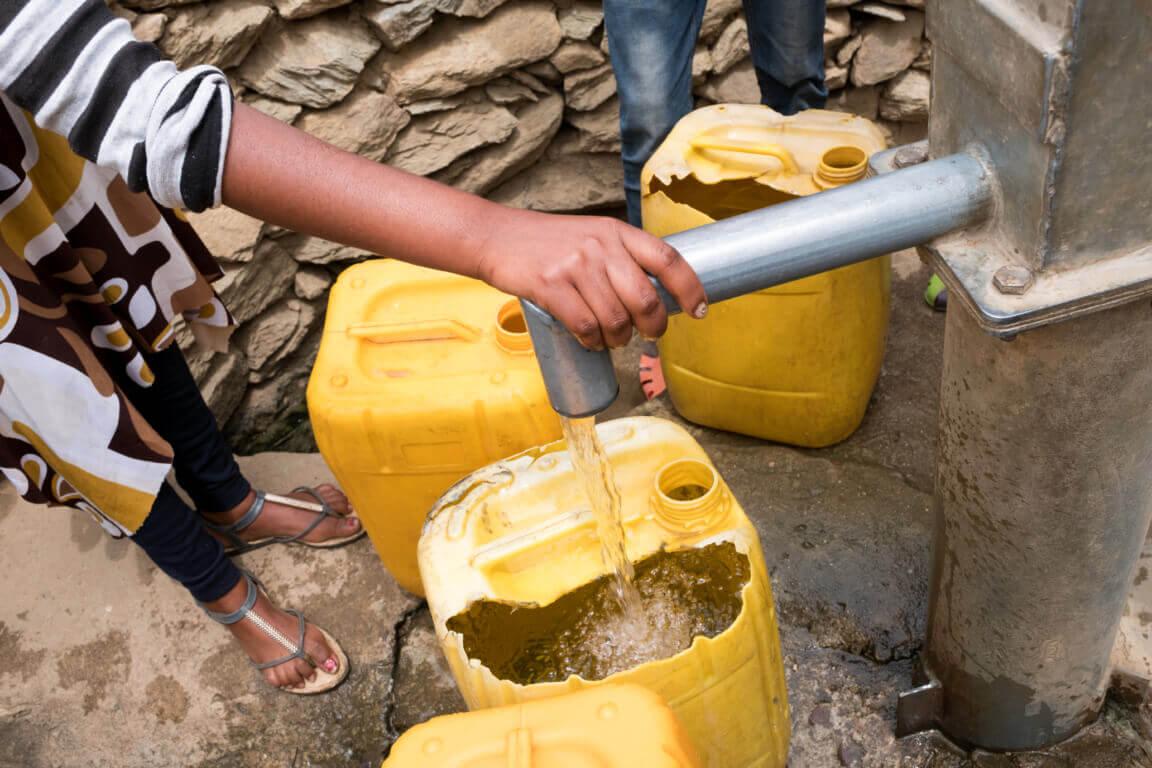 Caritas International Caritas verbetert de toegang tot drinkbaar water