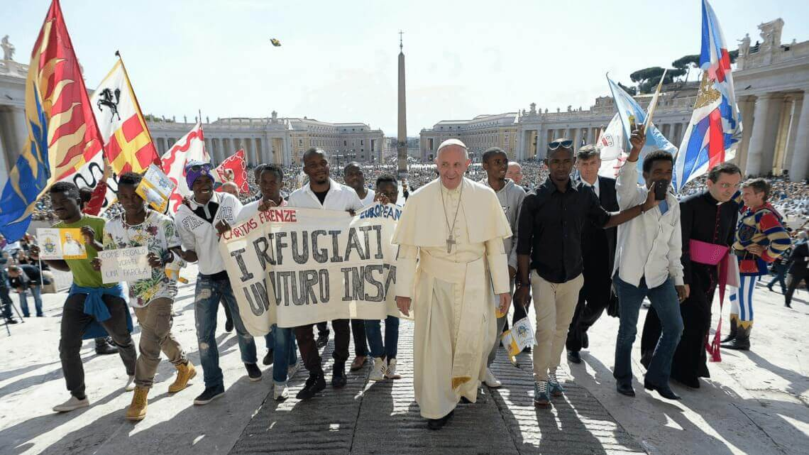 Caritas International Belgique Le Pape François et Caritas lancent la campagne mondiale «Partager le chemin»