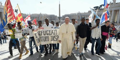 Caritas International België Paus Franciscus en Caritas lanceren de wereldwijde campagne «Samen op weg»