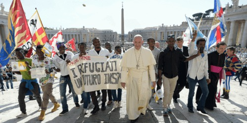 """Caritas International Belgium Launch of the Global Campaign: """"Share the Journey"""""""