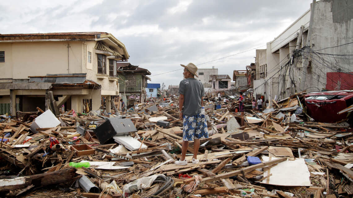 Caritas International België Natuurrampen: mitigatie en preventie