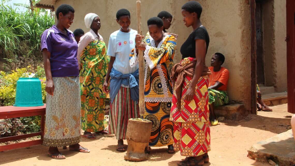 Caritas International Belgique Empowerment dans un monde en mouvement au Rwanda