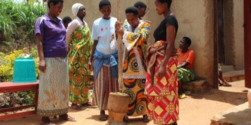 Caritas International België Empowerment in een wereld in beweging in Rwanda