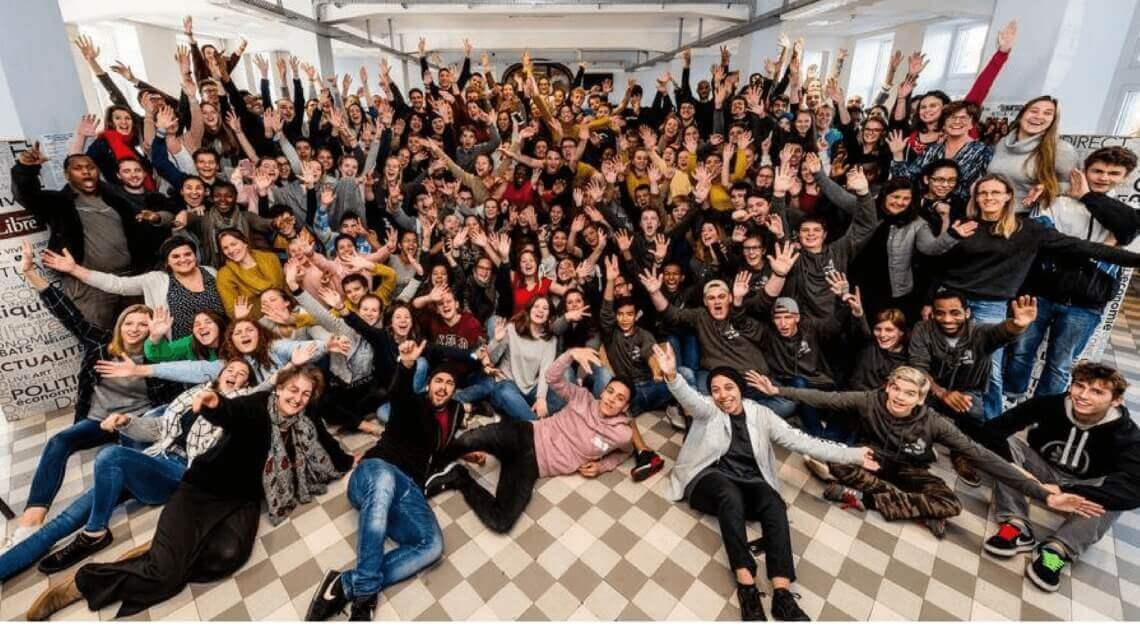 Caritas International Belgique 140 jeunes réunis pour le projet Move with Africa