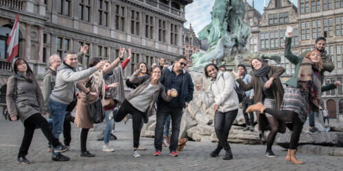 Caritas International België 2017 in 12 beelden