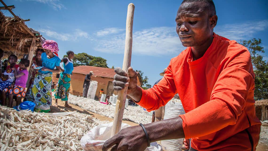 Caritas International Belgium Providing food security, nutrition, and hygiene through co-ops