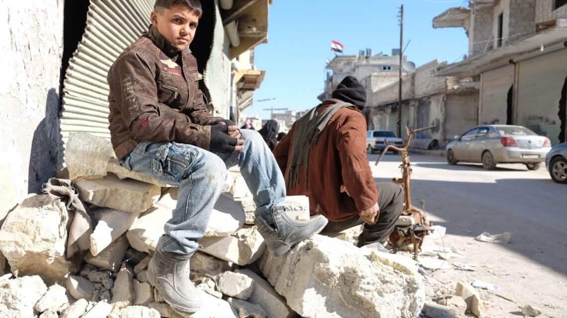 Caritas International België Een waardig individueel, familiaal en gemeenschappelijk leven in Aleppo