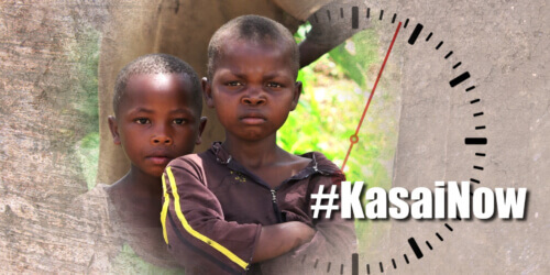 Caritas International België #KASAINOW – De stilte doorbreken