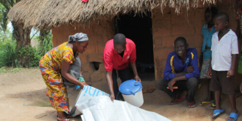 Caritas International Belgique Aide humanitaire pour les congolais en fuite et pour les communautés d'accueil