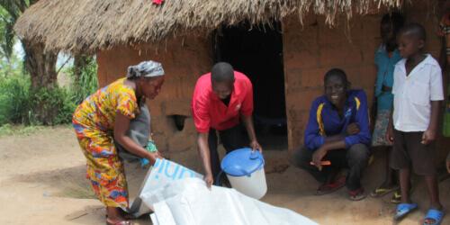 Caritas International Aide humanitaire pour les congolais en fuite et pour les communautés d'accueil