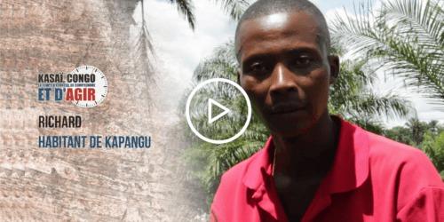 Caritas International Belgique Richard témoigne… #KasaiNow