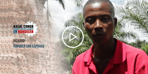 Caritas International België Richard getuigt… #KasaiNow