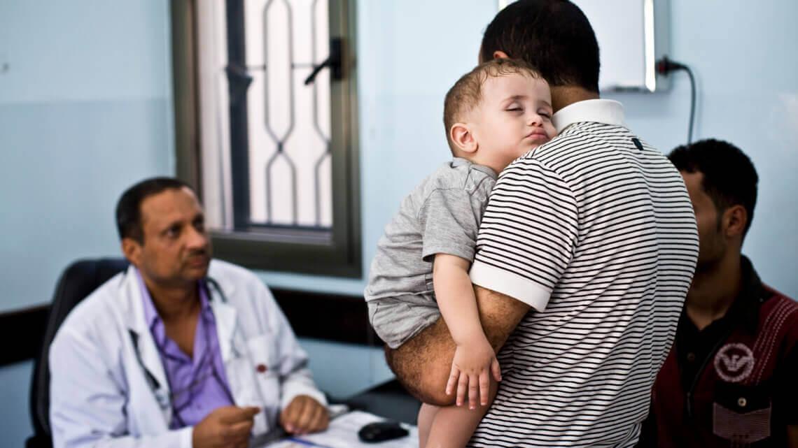 Caritas International Gezondheidszorg en bescherming