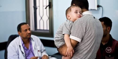 Caritas International België Gezondheidszorg en bescherming