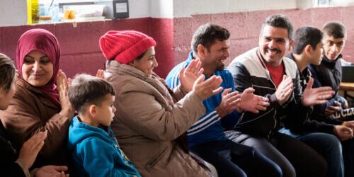 Caritas International België Lidstaten moeten een gastvrij Europa aanmoedigen