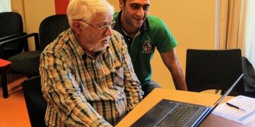 Caritas International België 3 vragen aan André, vrijwilliger van het Housing-café