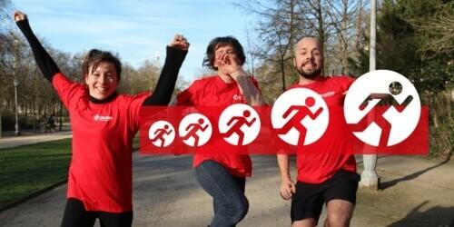 Caritas International België 20 km door Brussel: Samen op weg