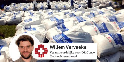 """Caritas International België """"De noden zijn enorm in Congo"""""""